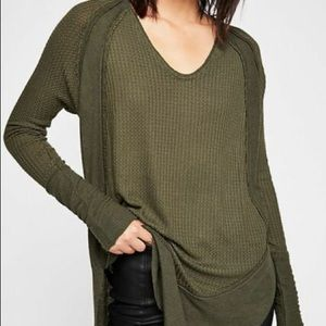 Free People We the Catalina Long sleeve thermal